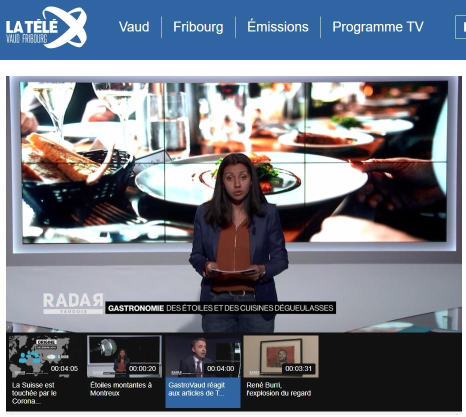 GastroVaud à la Télé